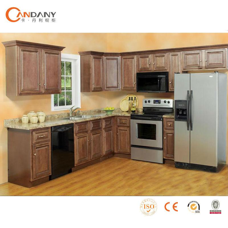 Produsen lemari dapur kayu model baru dapur kabinet lemari dapur id produk 60065743574 for Cuisine model new