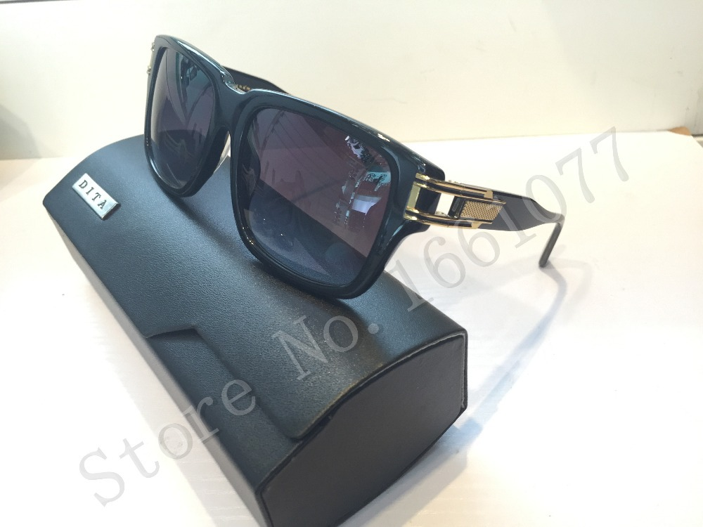 ccfbbd1ff8ab Get Quotations · New Dita sunglasses dita Grandmaster Two men brand  designer Semi metal frame and plate collocation limited