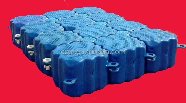 Plastic pontoon float, buoy made of PE professional plastic manufacturer