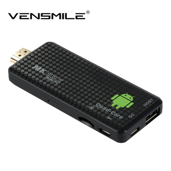 Vensmile RK3128 android <strong>tv</strong> <strong>stick</strong> MK809IV Quad core <strong>tv</strong> <strong>dongle</strong> 1GB/8GB BT4.0 1080p H.265 KODI 16.0 RK3128 Android <strong>TV</strong> <strong>Stick</strong>