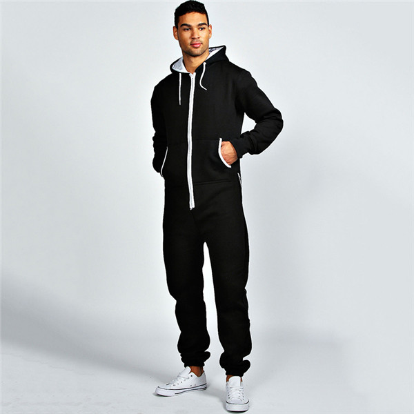 HOYUGO custom adult plain slim fit onesie