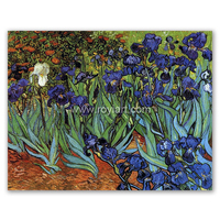 Irises art painting by Vincent Willem Van Gogh