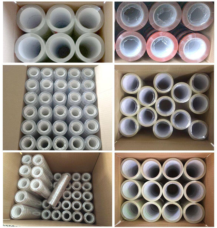 溶剤アクリル包装テープ bopp テープ 48 bopp テープグレードフィルムスクラップ
