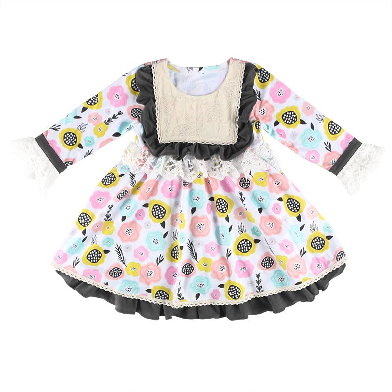 8e70a0a4f6c1a Enfants Vêtements Filles Robes Conceptions Dernière Robe De Fille Enfants  Robes Conceptions Pour L hiver - Buy Robe De Fille