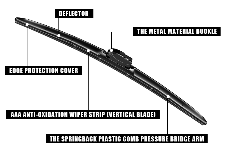 Meto 12 Inch Wiper Blade By Car