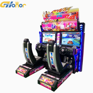 Maximum Tune Arcade Game Machine Coin Operated Electric Video Game Twins  Outrun For Sale