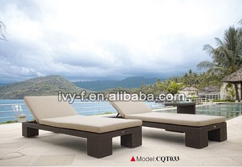 Sell Adjustable Height Aluminium Beach Bed/outdoor Pool Bed Holiday  Resort/rattan Day Bed