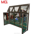Good quality aluminum power coating casement window and doors