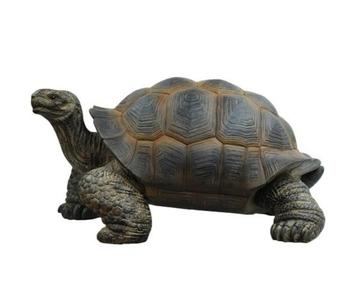 Life Size Tortoise Fiberglass Resin Statue For Garden Decoration