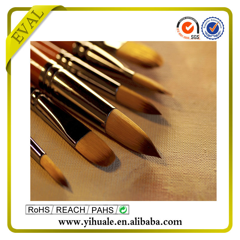 Wooden pencil set painting brush set Fashion easy watercolor paintings
