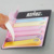 Beautiful unicorn die cut memo pad sticky note dispenser