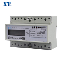 ENERGY METER EXPERT / XTM1250SF electric power monitor three phase din rail energy meter with rs485 modbus