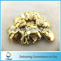 Hot! skull metal studs for clothing