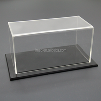 Popular clean acrylic toys display box, toy showcase, display case