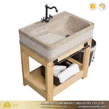 Beau Stonemarkt Natural Stone Antique Grey Granite Laundry Sink With Wash Board    Buy Stone Basin,Sink With Wash Board,Natural Stone Wash Basin Product On  ...