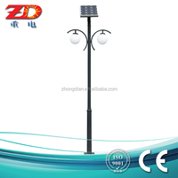 Solar garden light, new design for park hotel hospital villa, hot sale with CREE high quality LED source(ZD-TYD-10)