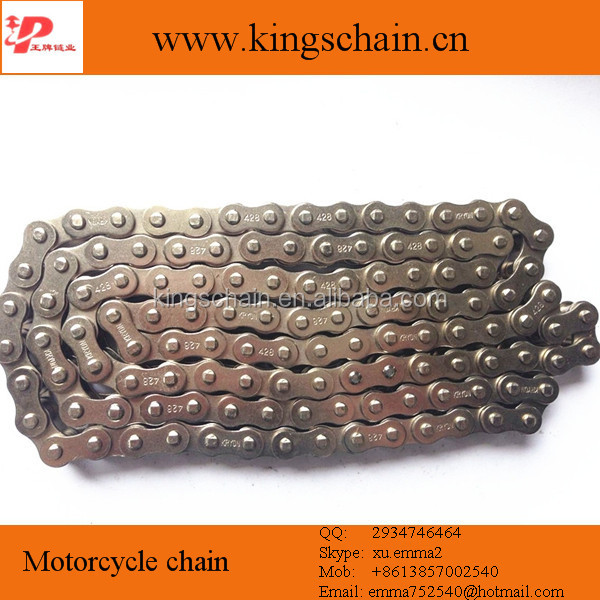 Hot sale gold standard motorcycle chain 428H chain part