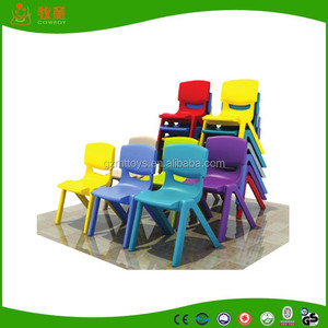 daycare plastic chairs kid chairs cowboy design hot sale style