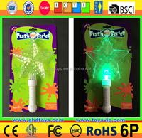 Flashing Light-Up Rave Party Toy Spinning LED Wand