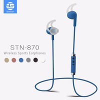 Telephone Headset with microphone and 4.1 stereo sound Mini Wireless Bluetooth earbuds Headphone