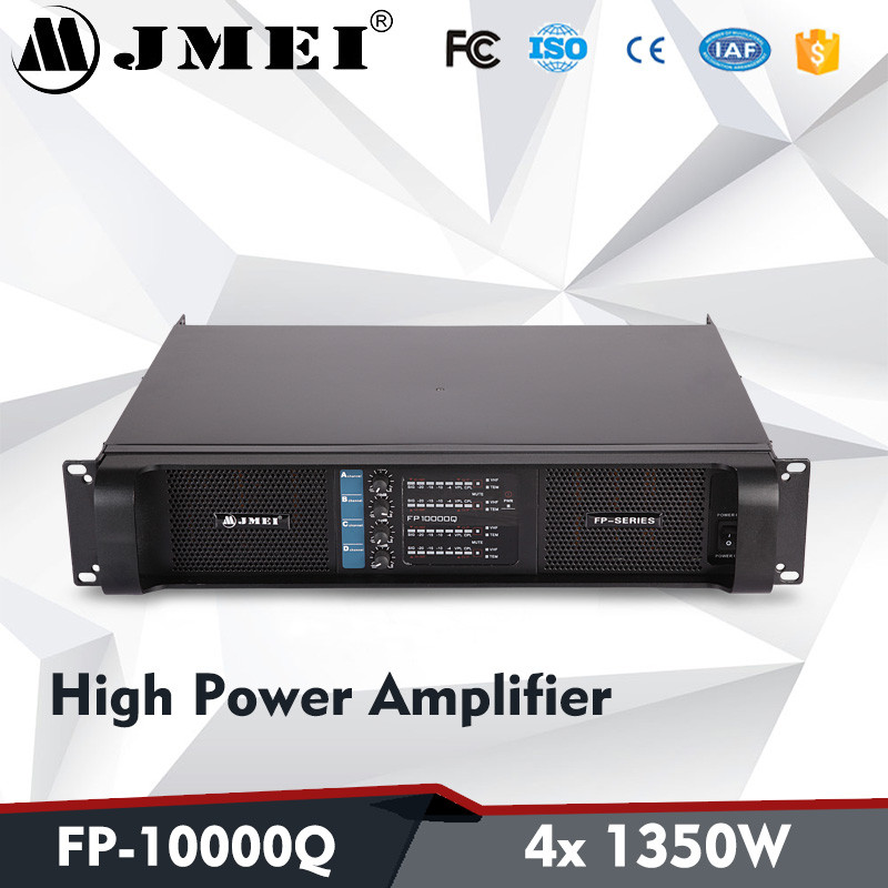 5000w FP10000Q Switch Systems 4*1350W Pro Audio High Sound Power Amplifier for Lab Gruppen