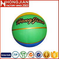 HB007 Size 7 / 6 / 5 / 3 / 2 / 1 # inflatable waterproof basketball balls