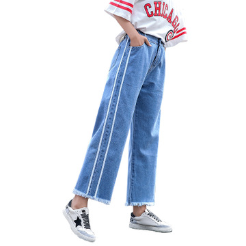 Good quality young style korea pants lady jeans, As photos