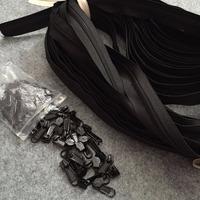 YKK wholesale coil nylon zipper in roll yard 5#
