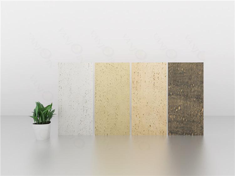 Outdoor Dekorative 24X12 Wasser Jet Acryl Lila Diy Strukturierte Weiße Glänzend Keramik Wand Fliesen