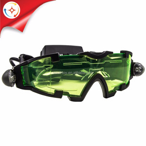 Kids Scientific Explorer Toys Adjustable Night Vision Glasses Spy Goggles See in The Dark 25 Ft
