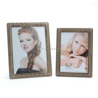 bamboo vintage metal animal photo frame