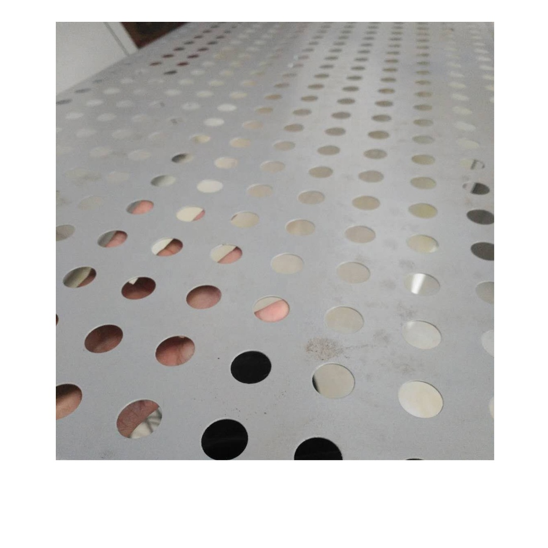 Decoration aluminum wire mesh Customized Made thin perforated metal sheets philippines