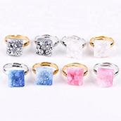 Yase naturale agata geode fetta di anelli di tovagliolo di nozze di porcellana eventi decorazione della tavola agata anello di tovagliolo tovagliolo fibbia anello