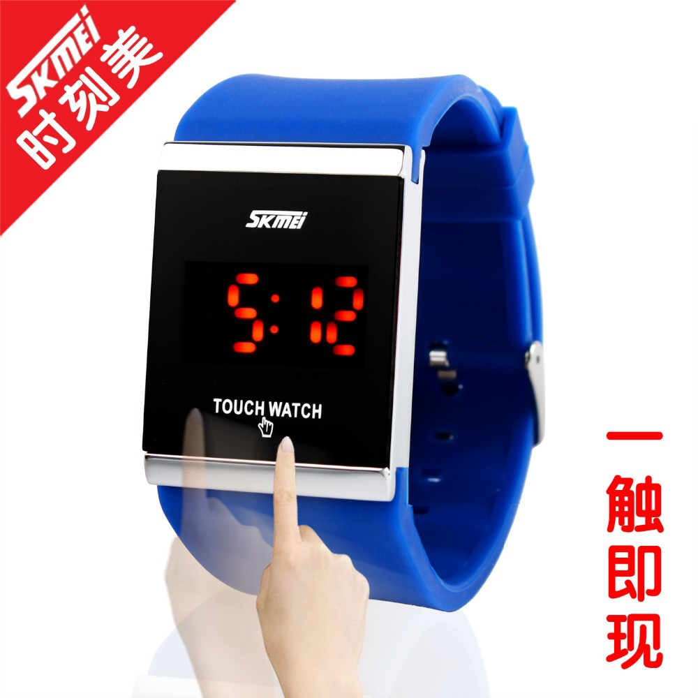 High quality waterproof nickel free fun touch watch,accept small stock order