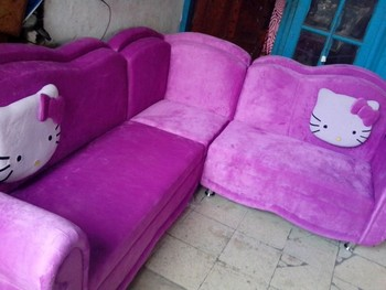 Great Sofa Living Room Hello Kitty