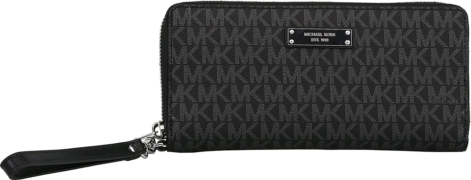 f01ce87063ee Buy MICHAEL Michael Kors Jet Set Travel Logo Continental Wallet in ...