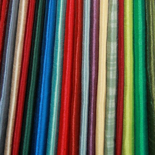 100% полиэстер искусственная льняная затемненная ткань для штор