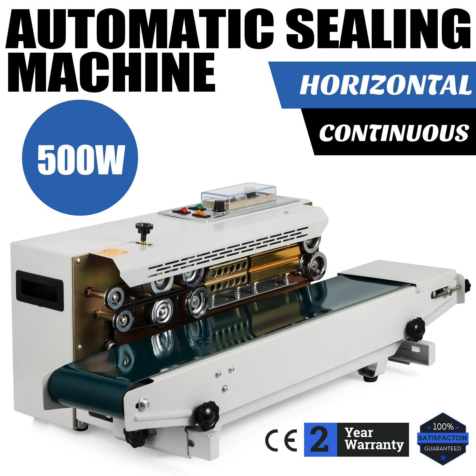 Automatic Horizontal Continuous Plastic Bag Band Sealing Sealer Machine FR900