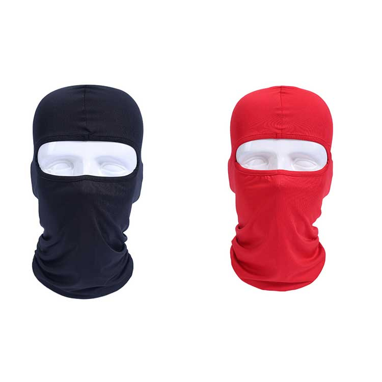 Anti-UV White Balaclava outdoor hat Motorcycle Neck Warmer winter balaclava