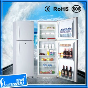 108L 138L 158L Top-mounted Refrigerator /Fridge Freezer with CE ROHS Soncap