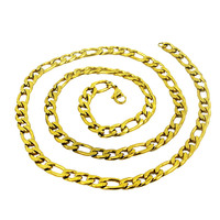 SOQ Online Wholesale Fashion Stainless Steel Gold Plated sterling silver chain for Men Jewelry