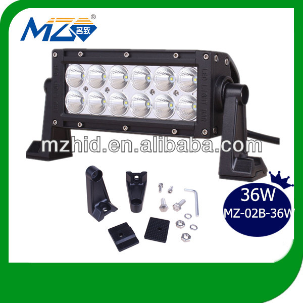 24W led strobe whole sales light bar 2017 hot sale for offroad truck jeep utv suv atv 4x4 flood spot combo beam