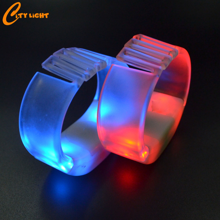 Event openingsceremonie hot selling remote controlled led armband voor party