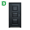 European standard main entrance door design steel apartment building entry doors