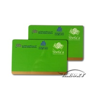 credit visa master contact smart card