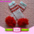 Sweet girls valentines day heart pattern baby winter ruffle leg warmers