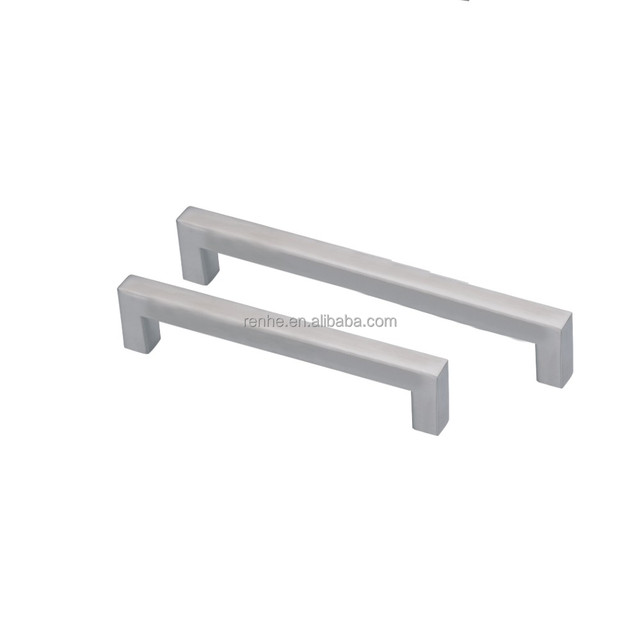 Brushed Hollow Square Cabinet Pull Handle
