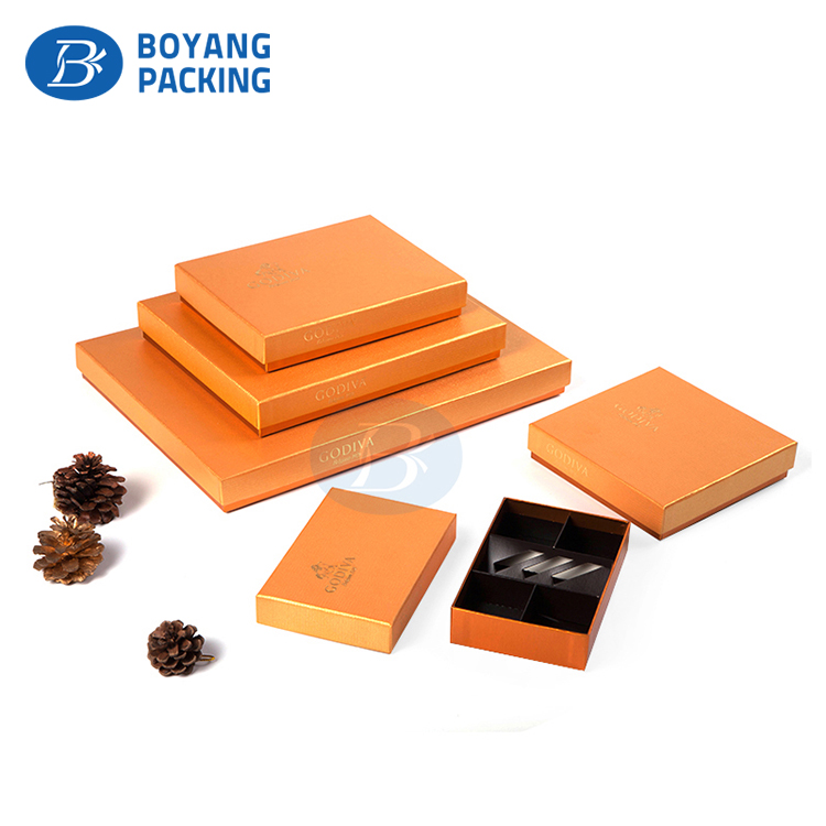 Hot Selling Luxury Handmade OEM paper chocolate packaging box