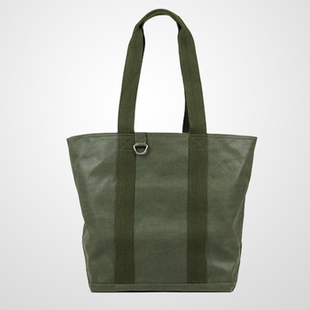12 Cans Waxed Canvas Cooler Tote Bag With A Hidden Insulated Compartment Roomy Enough To