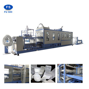 ps foam thermocol plate,lunch box making machine from Fushi company
